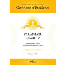 Top Hotels Certificate of Excellence 2015