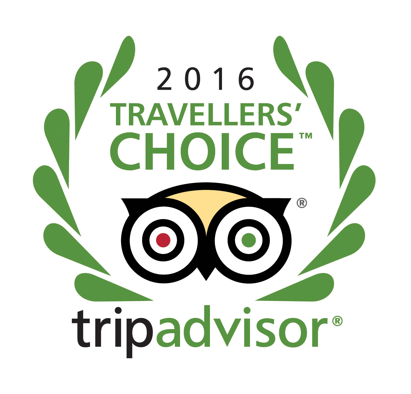 TripAdvisor Travellers' Choice Award Winner