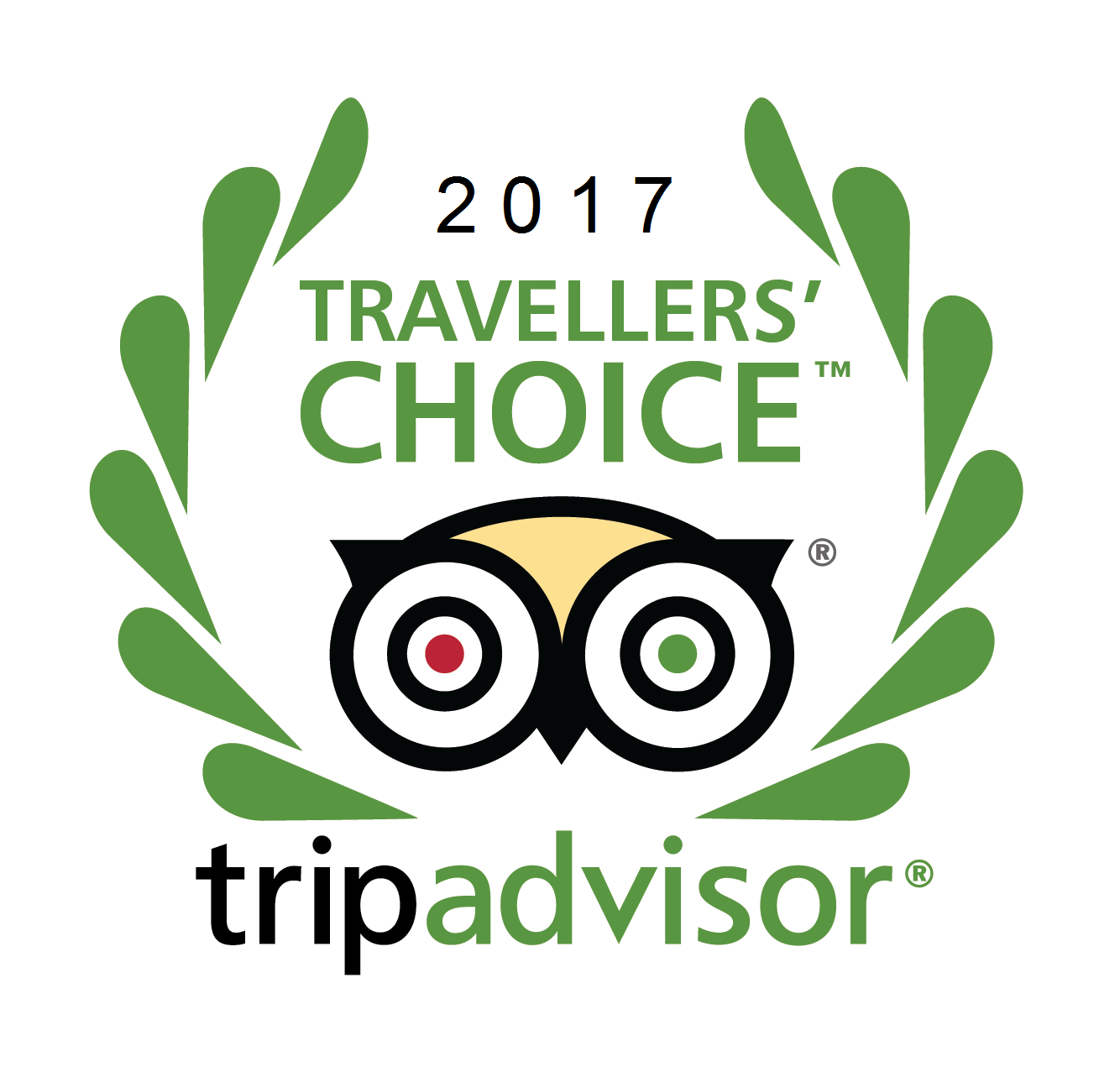 Travelers' Choice 2017