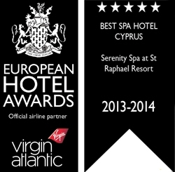 European Hotel Awards, Virgin Atlantic, Best Spa Hotel Cyprus
